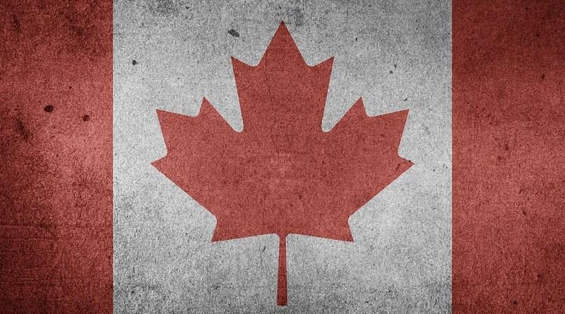 Canada North America National Flag Flag Grunge