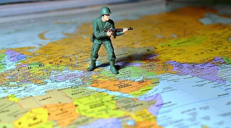 Soldier Map Middle East Army War Military Weapon