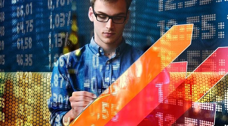 WEBP Stock Market Trading Man Entrepreneur Development Success Idea