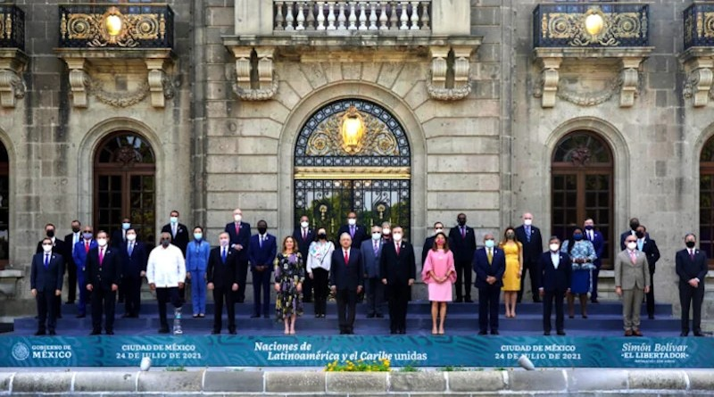 21st Summit of Foreign Ministers from the Community of Latin American and the Caribbean States (CELAC), July 24, 2021. Photo Credit: Government of México.