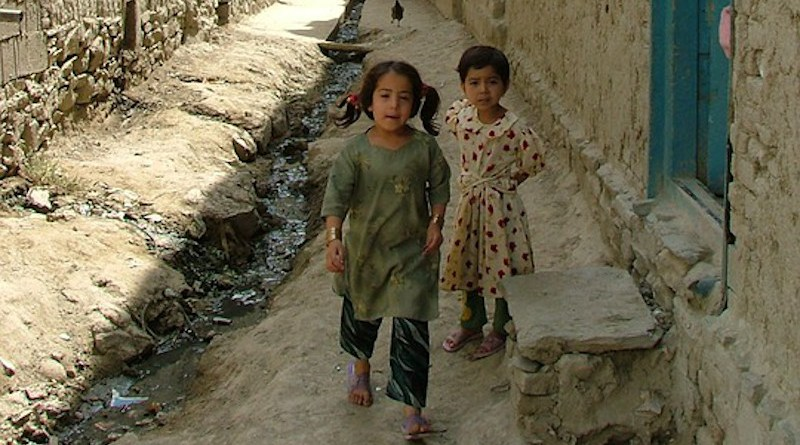 Children Mud Houses Kabul Poverty Afghanistan