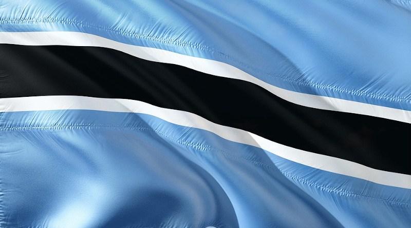 botswana flag africa