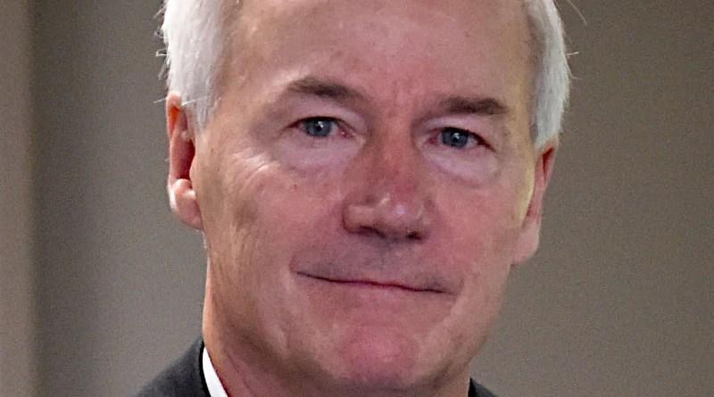 Arkansas Governor Asa Hutchinson. Photo Credit: Arkansas National Guard, Wikipedia Commons