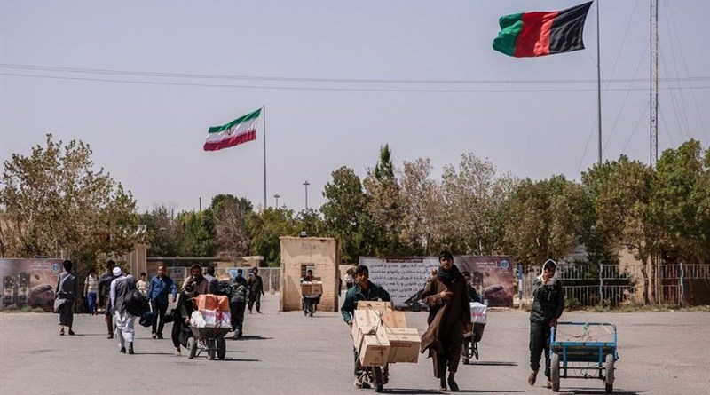Afghanistan - Iran border crossing. Photo Credit: Tasnim News Agency