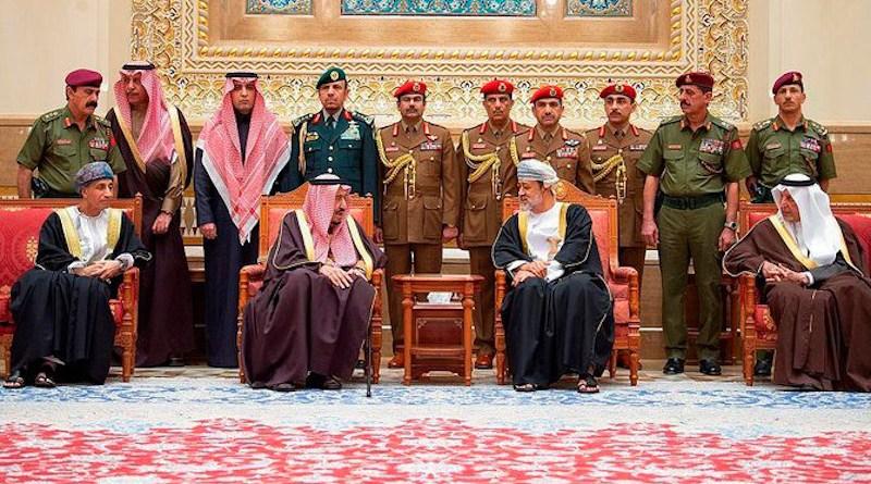 Saudi Arabia's King Salman and Oman's Sultan Haitham bin Tariq' (Photo supplied)
