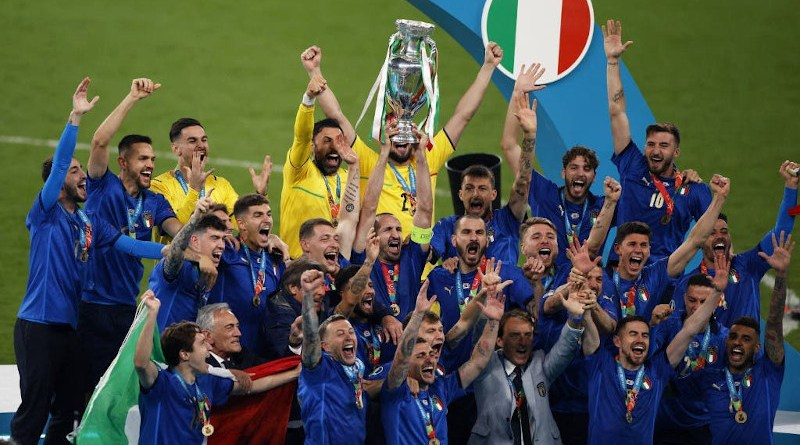 Italy wins Euro 2020 title (Photo supplied)