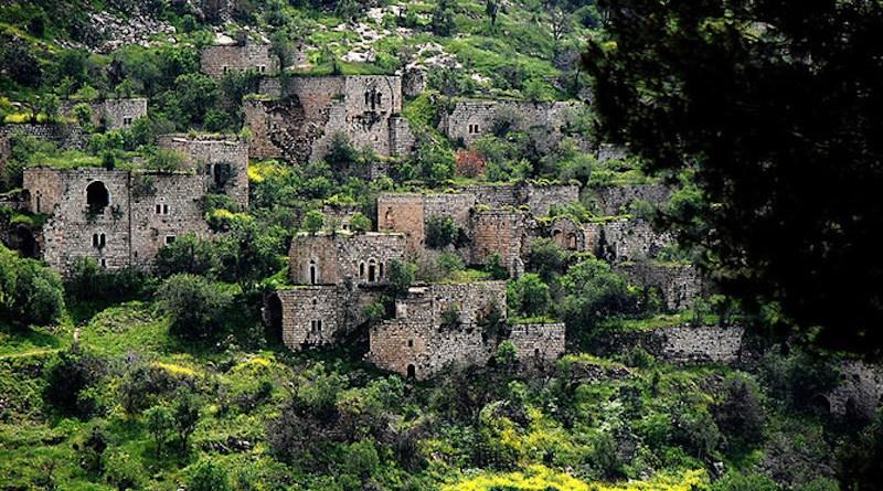 The Palestinian village of Lifta. (Wikimedia Commons)