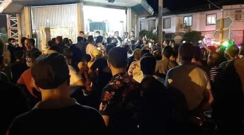Protestors in Iran. Photo Credit: Iran News Wire