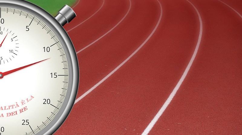 Stopwatch Time Racetrack Race Running Games Sport