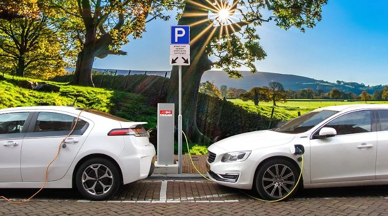 Car Electric Car Hybrid Car Charging Post