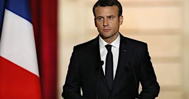France's President Emmanuel Macron. Photo Credit: Mehr News Agency