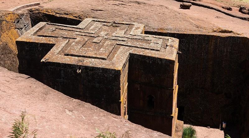 Ethiopia Axum Lalibela Africa Rock Church Religion