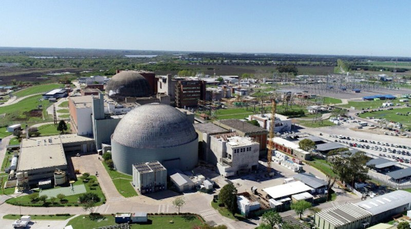 Argentina's Atucha nuclear plant site (Image: NA-SA)