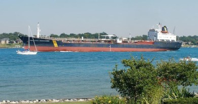Panama-flagged asphalt/bitumen tanker Asphalt Princess pictured sailing under a previous name. (pxfuel/HaloJim)