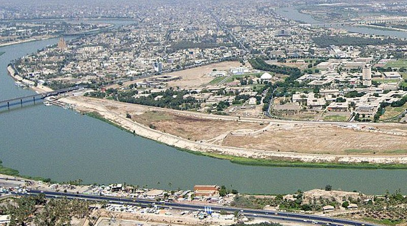 View of the Tigris as it flows through Baghdad, Iraq. Photo Credit: Chairman of the Joint Chiefs of Staff, Wikipedia Commons