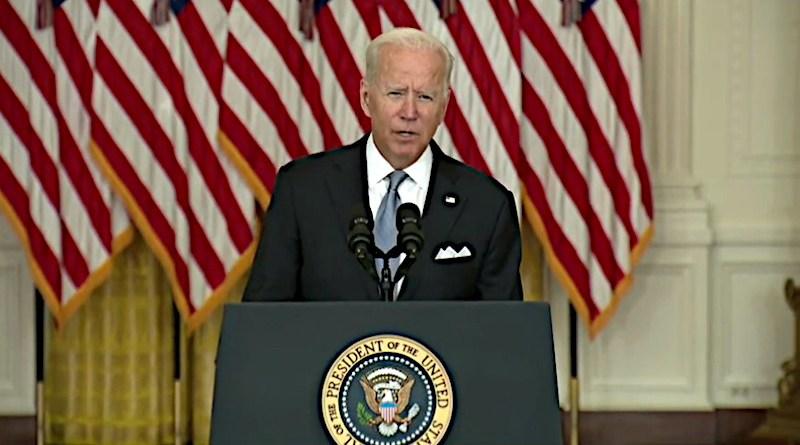 US President Joe Biden. Photo Credit: Screenshot White House video