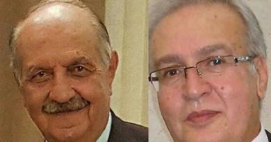 Bahais Abbas Taef and Attoallah Zafar sentenced to prison in Iran. Photo Credit: Iran News Wire