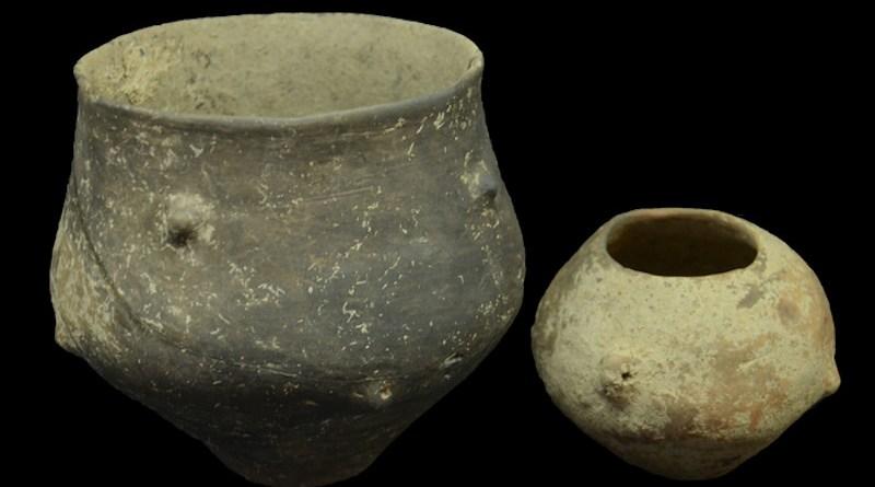 Ceramic grave goods from Popova zemlja. CREDIT: © Borko Rožanković