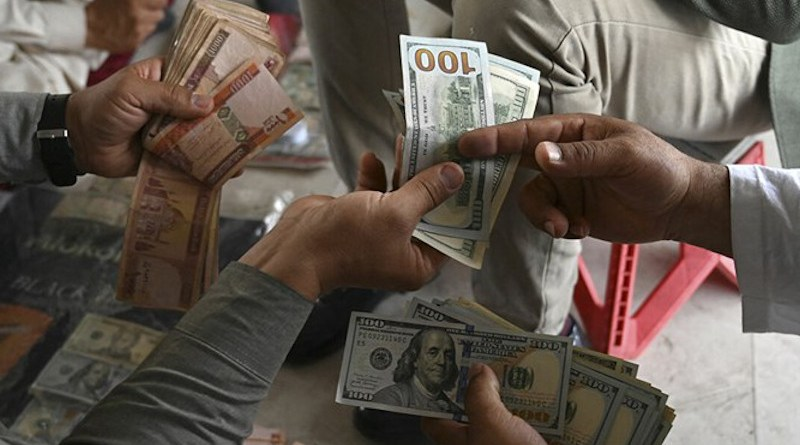 Money changers in Afghanistan. Photo Credit: Fars News Agency
