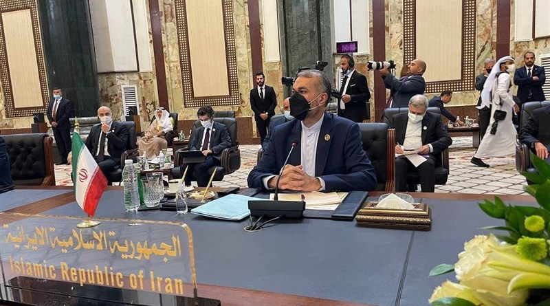 Iran's Foreign Minister Hossein Amirabdollahian. Photo Credit: Tasnim News Agency
