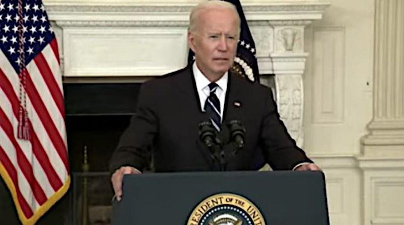 President Joe Biden delivers remarks at the White House, Sept. 9, 2021/ WhiteHouse.gov