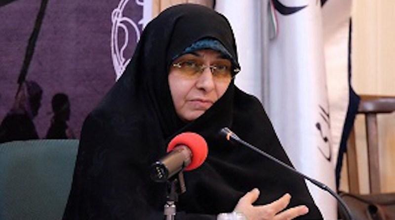 Iran's Ensieh KhazAli. Photo Credit: Iran President's Office