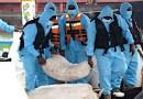 Sri Lanka Navy intercepts foreign fishing vessel carrying heroin in international waters. Photo Credit: Sri Lanka Navy