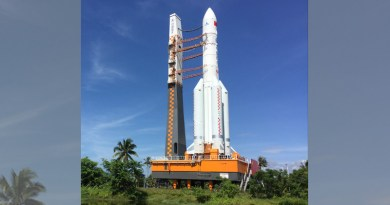 China is reaching for new heights in space exploration with its world-class space transportation systems. LM-5B is one its flagship launch vehicles. CREDIT: Prof. Xiaojun Wang from the China Academy of Launch Vehicle Technology