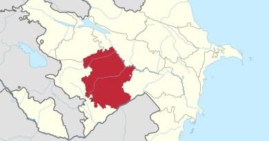 Location of Karabakh Economic Region in Azerbaijan. Credit: Wikipedia Commons