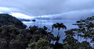 View over Lake Kutubu in Papua New Guinea. Photo: Professor Simon Haberle