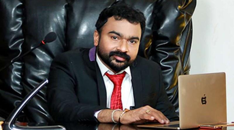 Monson Mavunkal was arrested on criminal charges including fraud on Sept. 26. (Photo: Facebook)