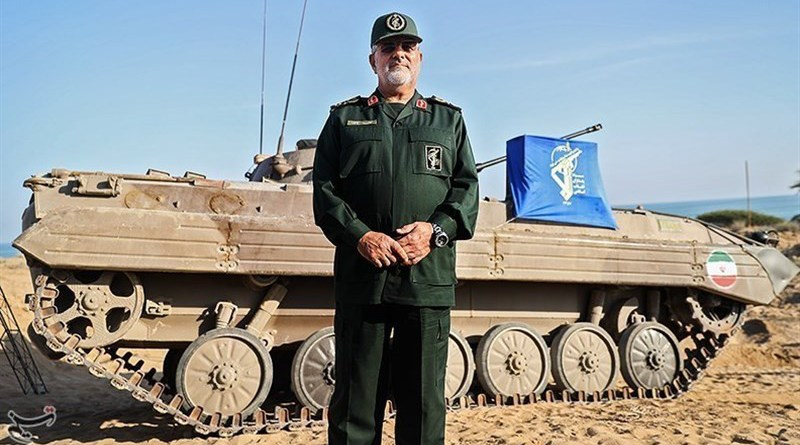 Commander of the Islamic Revolution Guards Corps (IRGC) Ground Force Brigadier General Mohammad Pakpour. Photo Credit: Tasnim News Agency