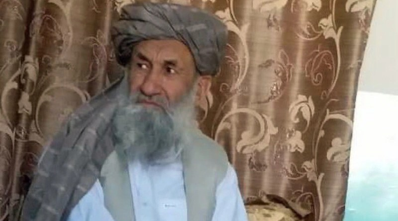 Mullah Hassan Akhund is seen in an undated photo released by the Taliban's media team. Source: VOA