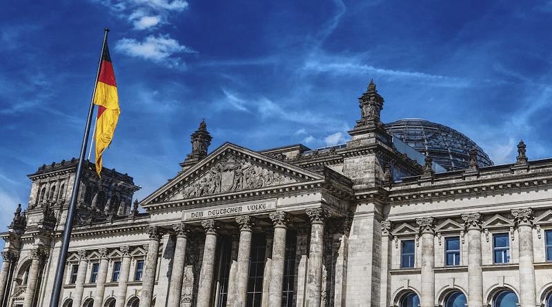 Germany Bundestag Parliament Berlin Federal Election Flag