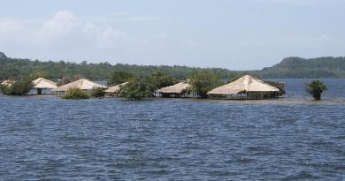 Flooding Alter Do Chao Amazon Brazil Santarem River