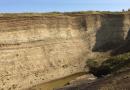 The analyzed sediments from the Paleocene-Eocene Thermal Maximum (PETM) came from the Danish island of Fur. CREDIT: photo/©: Morgan Jones