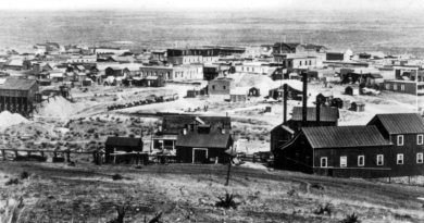 Tombstone, Arizona in 1881, location of O.K. Corral. Photo Credit: C. S. Fly, Wikipedia Commons