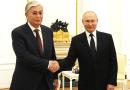 President of Kazakhstan Kassym-Jomart Tokayev with Russia's President Vladimir Putin. Photo Credit: Kremlin.ru