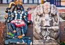 Durga India Travel Goddess Puja Idol Sculpture Bangladesh Hindu Hinduism