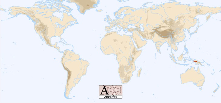 Hindu Kush Mountains Location World Map