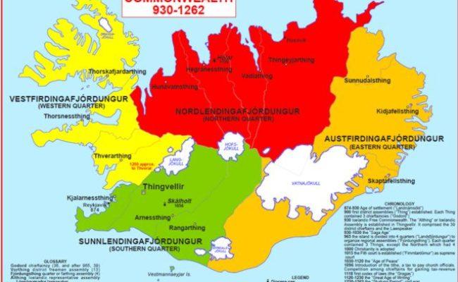 Hisatlas Mapa De Islandia 1262
