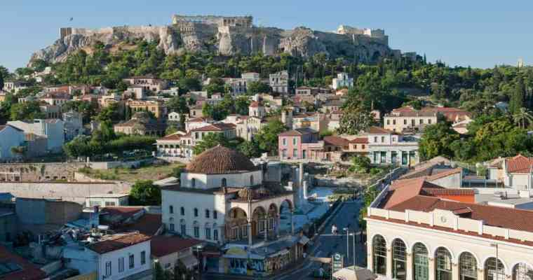 Walking tour through the Ottoman heritage of Athens