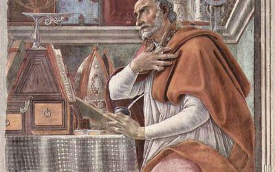 Je voudrais savoir si saint Augustin parle à un moment donné dans son oeuvre de «Montus coagulatus, montus fermentatus» pour évoquer Jésus ou si c'est un fantasme fromager du divin Dali !