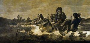 Les Parques, gravure de Goya