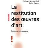 couverture de Restitution des oeuvres d'art