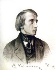 gravure portrait de Belinsky 1843