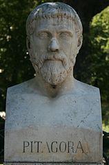 Buste de Pythagore, villa Borghese