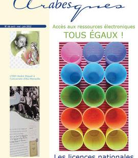 couverture du numero d'Arabesques sur les licences nationales