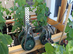 petit robot d'irrigation
