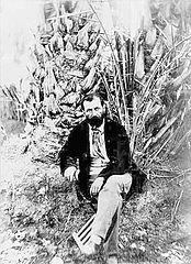 Photographie du Commandant Roudaire 1879